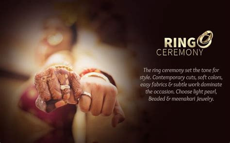 ethnic fashion   ring ceremony lehengas sarees