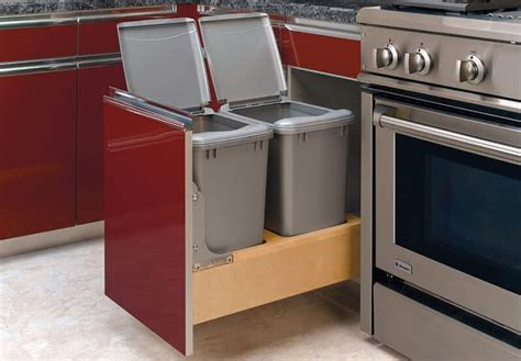 6 best pull out trash can 2020 sink garbage cabinet