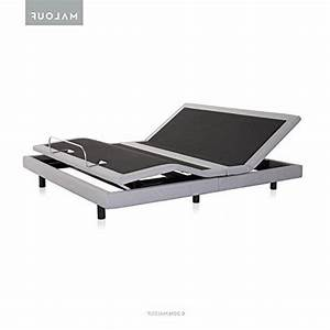 Malouf Structures Adjustable Bed Base M510 With Massage