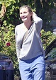 Finally Pregnant? Cameron Diaz Steps Out Covering Possible ...