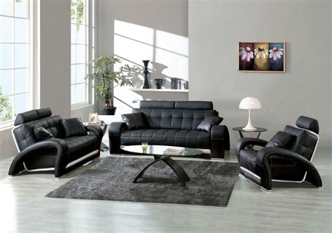 Stylish Leather Living Room Furniture Designs Ideas Decors