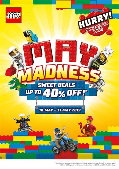 DeToyz: LEGO May'19 Madness Sales!