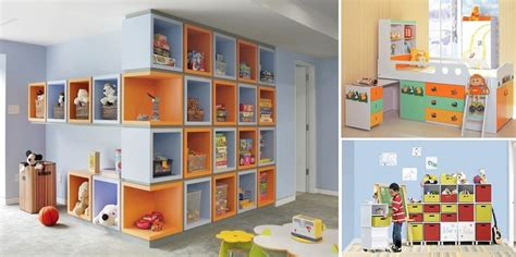 Storage Solutions For Kids' Rooms