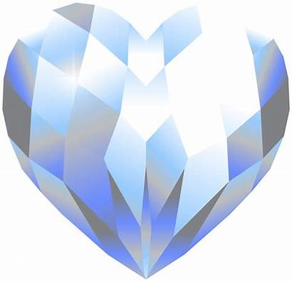 Heart Crystal Clipart Clip Galaxy Transparent Yopriceville