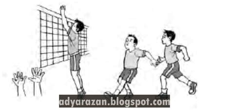 Variasi gerak dasar nonlokomotor dalam permainan bola voli Inilah 4 Teknik Dasar Bola Voli yang Wajib Diketahui ...