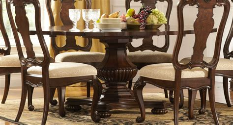 72 pedestal dining table homelegance perry pedestal dining table with drop 7380