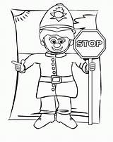Stop Coloring Sign Police Officer Pages Printable Drawing Azcoloring Netart Bus Template Credit Larger Getdrawings Funny Sketch sketch template