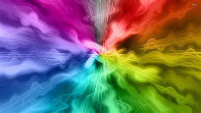 Rainbow Abstract Desktop Wallpapers Waves Cool Background