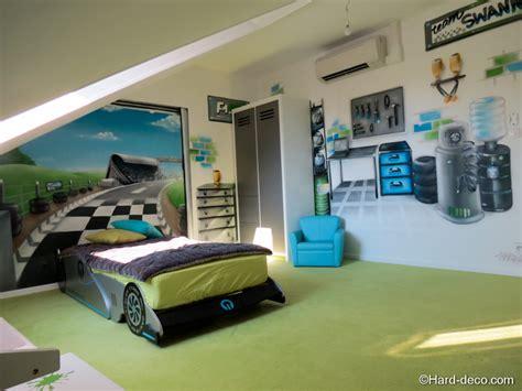 chambre deco déco chambre theme voiture