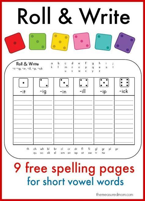 learn  spell short vowel words   fun printables