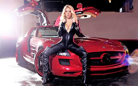Cars With Girls Wallpaper  1680x1050  191246 Wallpaperup