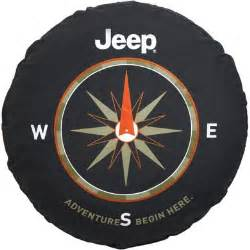 Jeep 29 Inch Spare Tire Cover - 82210883AB