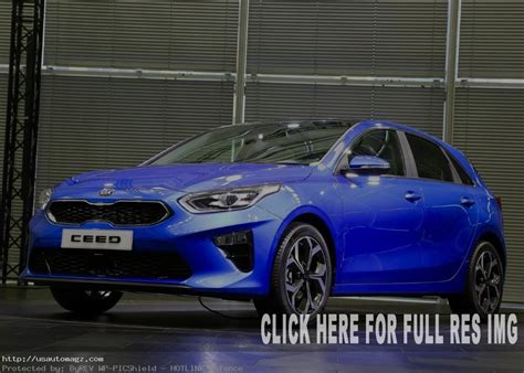 Update Motor Show 2019 : 2019 Kia Ceed Changes And Update