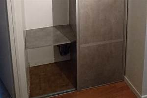 Rail Placard Coulissant : placard coulissant le bois chez vous ~ Premium-room.com Idées de Décoration