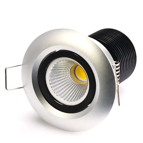 recessed heat l fixture 8 watt cob led aimable recessed light fixture bridgelux