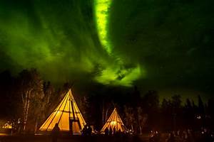 Yellowknife Northern Lights Teepee The Best Places To See The Northern Lights Nature S