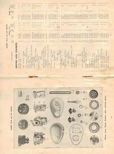 Villiers Operating Instructions - Spare Parts Mk 10d - Mk 6e