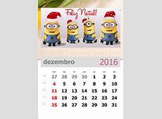 Arquivos calendário 2016 para imprimir Atividades para a