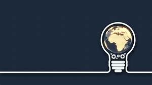 Final Cut Pro Light Effects Earth Idea Light Bulb Background Stock Motion Graphics
