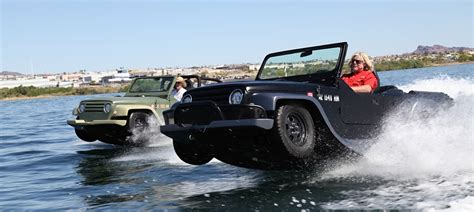 hibious jeep watercar panther an amphibious vehicle that looks like a