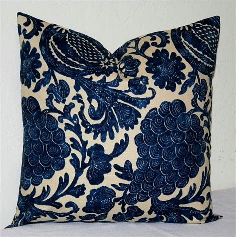 Navy Decorative Pillows by Navy Blue And Beige 18x18 Inch Decorative Pillows Accent