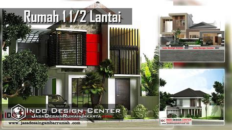 desain rumah  lantai indo design center youtube