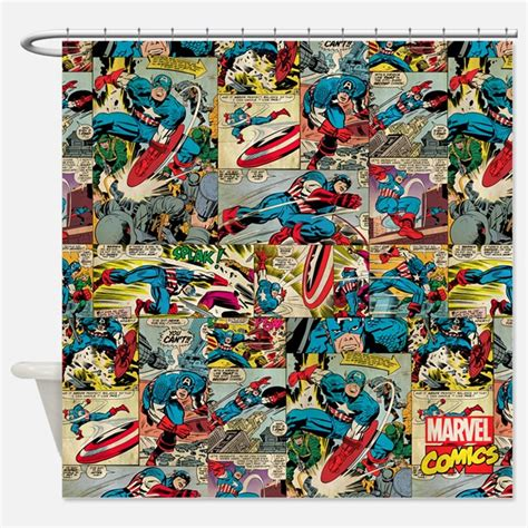 captain america curtains marvel shower curtains marvel fabric shower curtain liner