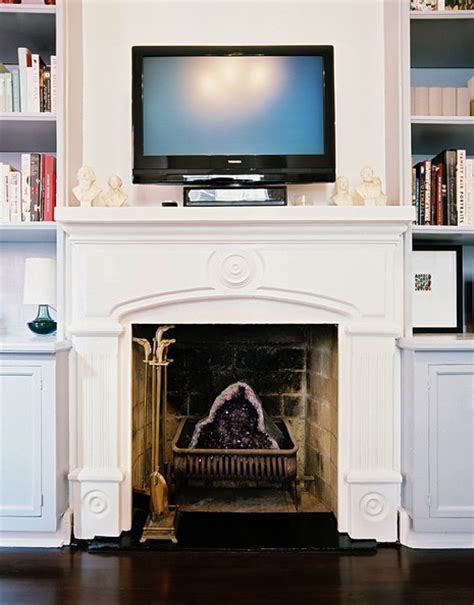 tv  fireplace  design ideas remodel