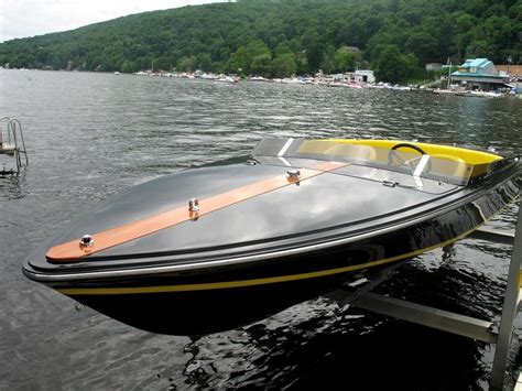 Yellow Cigarette Boat by Original Cigarette An Iconic Boat Is Saved Wave To Wave