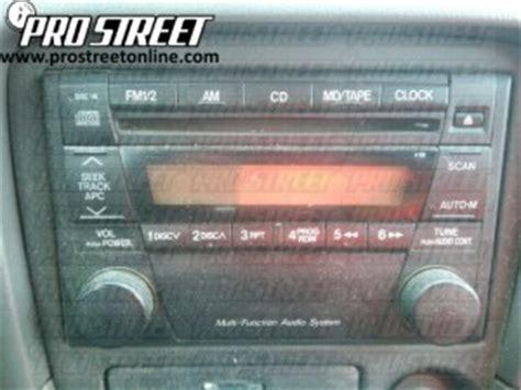 How Mazda Stereo Wiring Diagram Pro Street