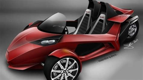 New Design Proposed For T-rex Three-wheel Street Racer