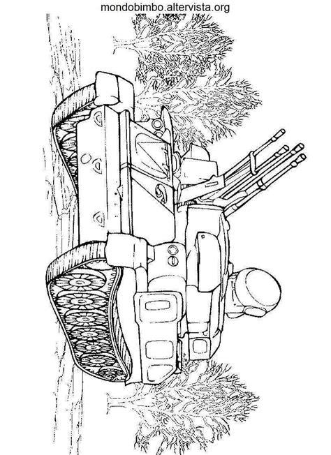 coloriamo  carri armati mondo bimbo