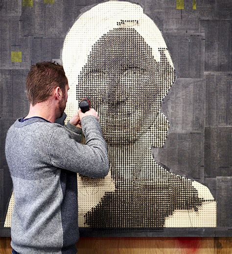 screw portraits  sculptor andrew myers architecture