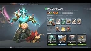 Dota 2 Juggernaut Arcana Inmortal Pilgrimage Of