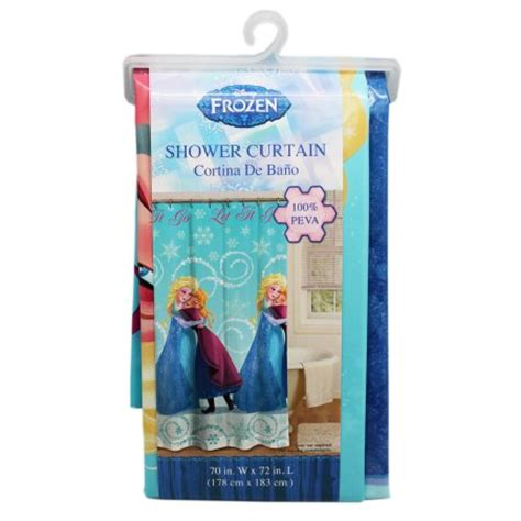 frozen bathroom set at walmart disney s frozen hugging elsa shower curtain rings