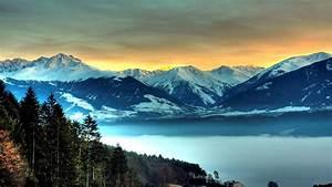 Nature, Landscape, Mountain, Hill, Clouds, Rock, Evening
