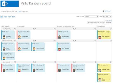 Office 365 Kanban sharepoint kanban board add in for office 365