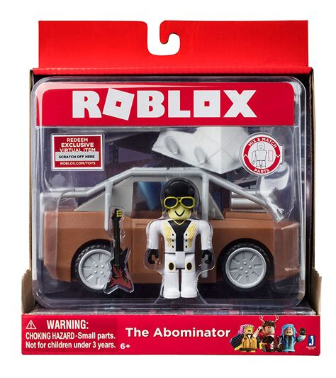 Roblox The Abominator Figure With Vehicle + Virtual Item