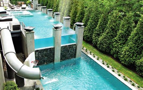 visually interesting  ground pool designs   home
