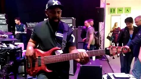 Andrew Gouche Jam At Tecamp Booth Musikmesse 2015