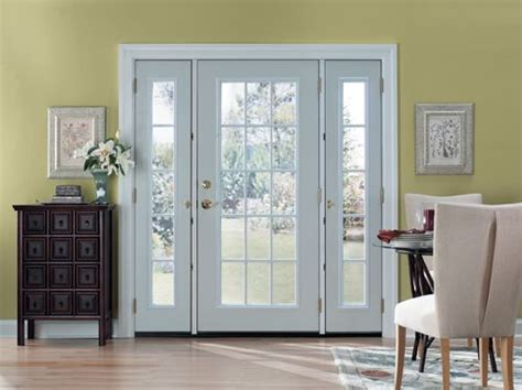 Masonite Patio Doors With Sidelites by Swaying Toward This Configuration Traditional 2
