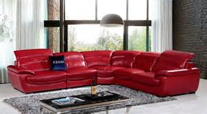Stanley Furniture Sofa by Top Grain Red Leather Sectional Sofa Vg469 Leather