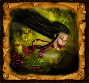 Asiatische Frauen Eigenschaften : krasue die kopf und organ d monin der thail ndischen mythologie fabelwesen fantasy ~ Frokenaadalensverden.com Haus und Dekorationen