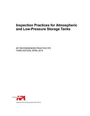 API RP 575 - 2014 Guidelines and Methods for Inspection of