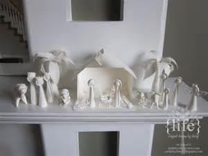 Christmas Nativity Scene Paper