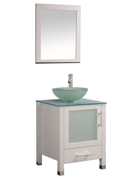 24 inch vanity with sink acuba 24 inch single sink modern bathroom vanity set white