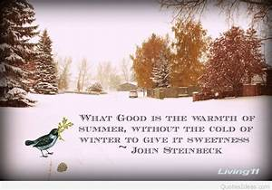 quotes cold winter