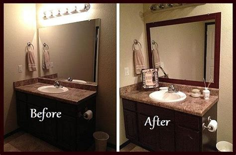 Mirror Decals For Bathrooms by Stick On Frame Adhesive Frame For Bathroom Mirrors And