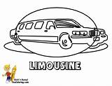 Coloring Transportation Limousine Pages Limo Colouring Cars Service Police Emergency Yescoloring Vehicles Fire Boys Trucks sketch template