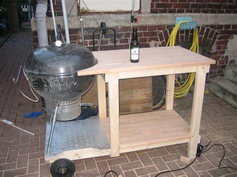 grilltisch selber bauen grilltisch f 252 r 57iger weberkugel selber bauen grillforum und bbq www grillsportverein de